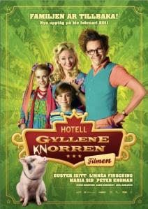 Filmaffischen för Hotell Gyllene Knorren – filmen