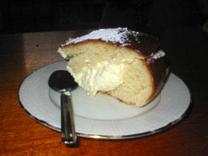 En tårtbit av en jättesemla