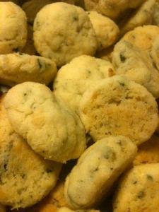Massa små kakor